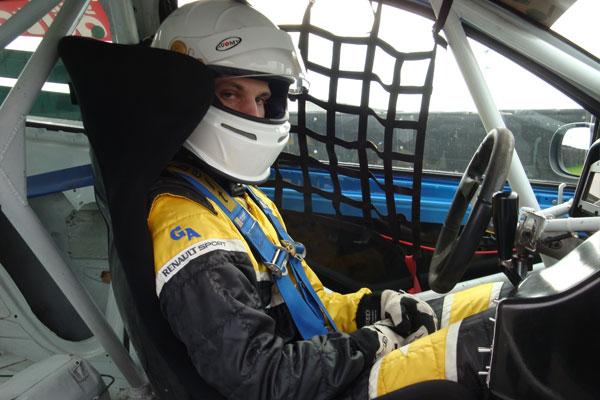 Lucas Waltermann beim Bördesprint Cup Oschersleben